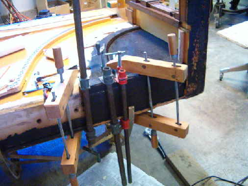 Clamped frame