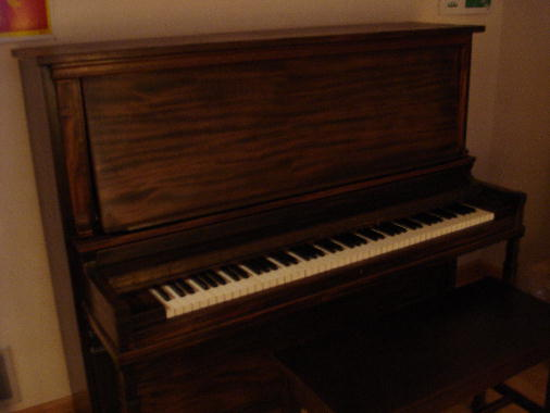 38 Piano assembled - Project complete!