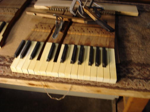 58 - Keys cleaned & buffed